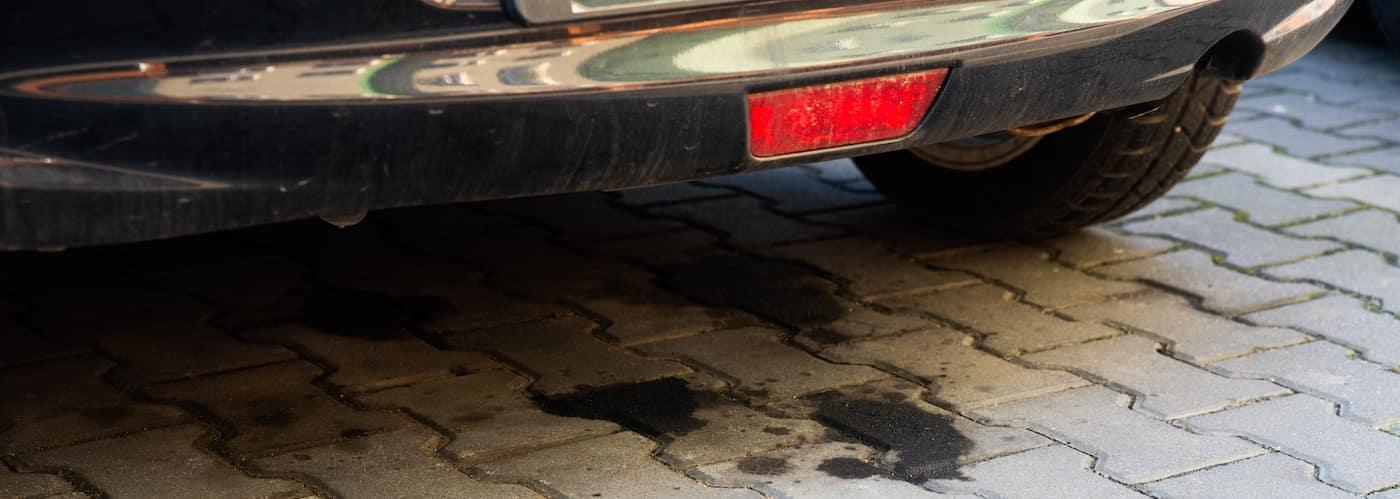 Liquid Leaking from Car