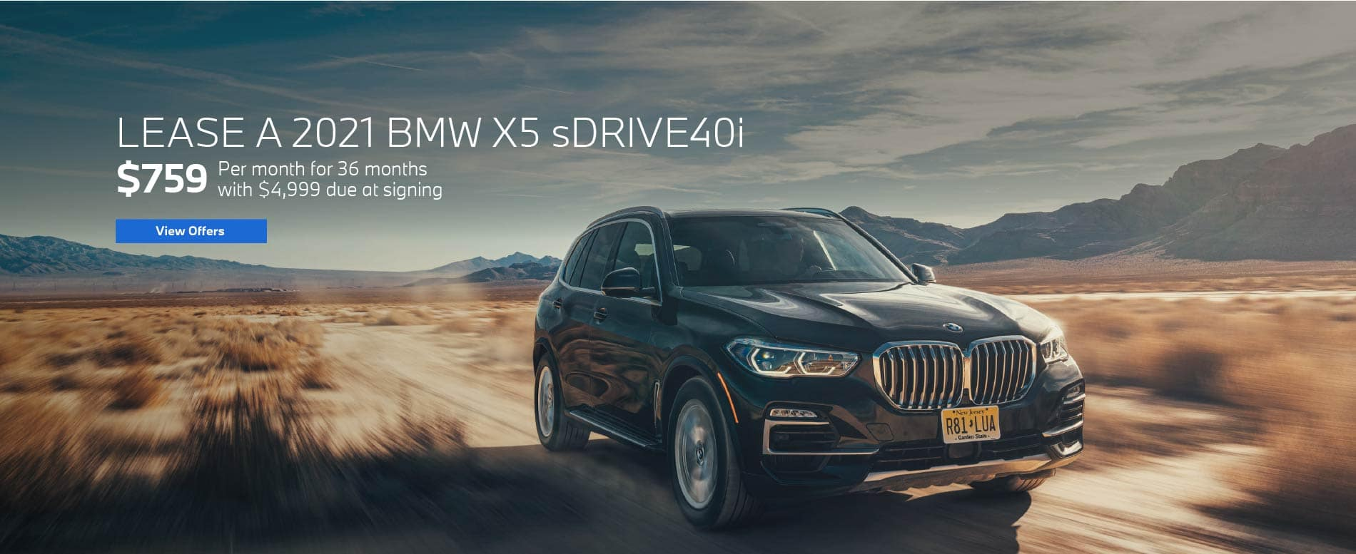 Lease a 2021 BMW X5 for $759 per month - View Offers