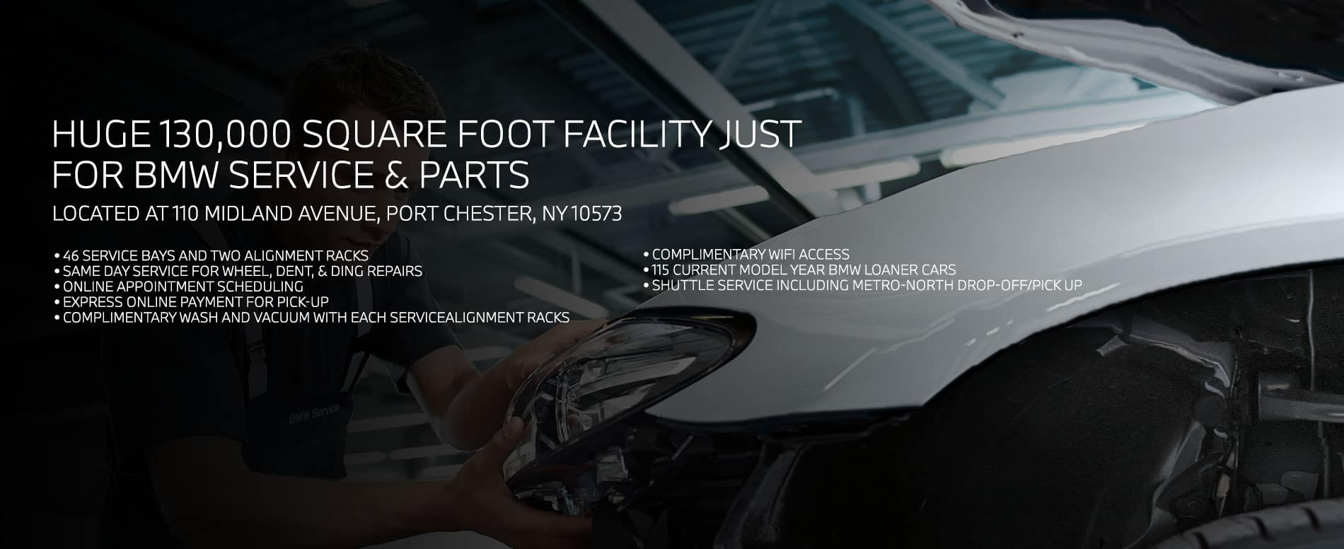 BMW Service & Parts Center