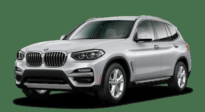 2020 BMW X3 Silver