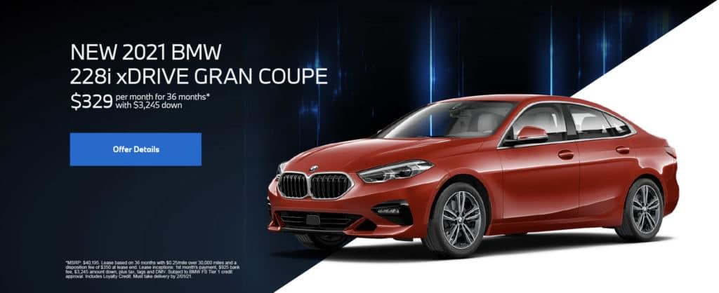 New 2021 BMW 228i xDrive Gran Coupe