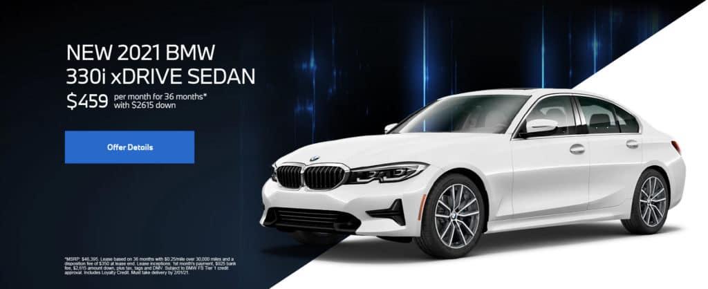 New 2021 BMW 330i xDrive Sedan