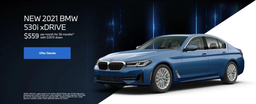 New 2021 BMW 5 Series 530i xDrive