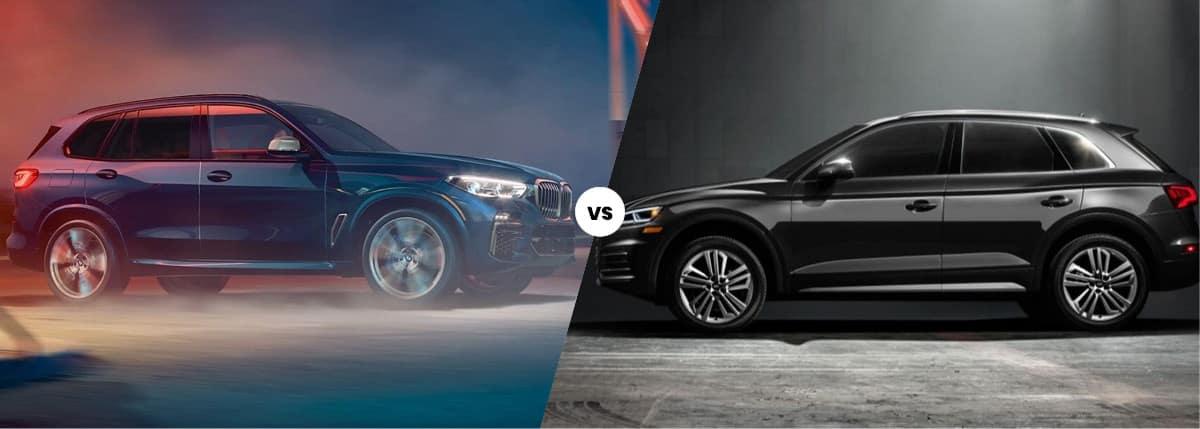 2020 BMW X5 vs Audi Q5 comparison image