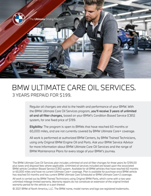 BMW Oil Services