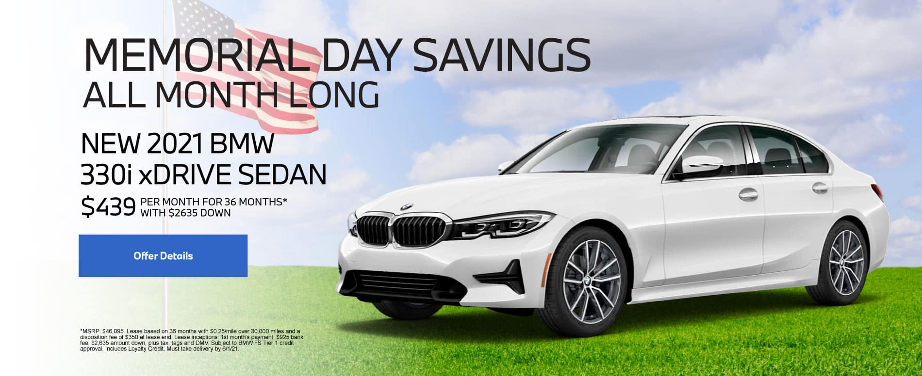 New 2021 BMW 330i $439 per month - Click for Details