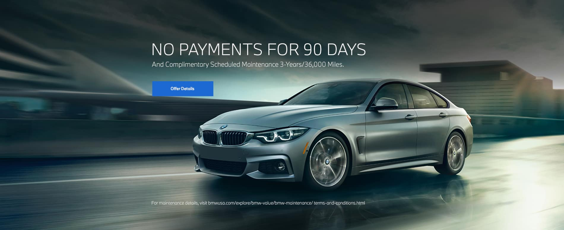 90 Day no payments