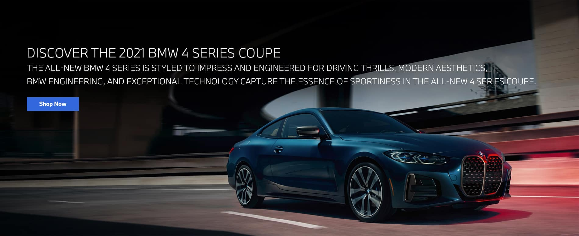 DISCOVER THE 2021 BMW 4 SERIES COUPE