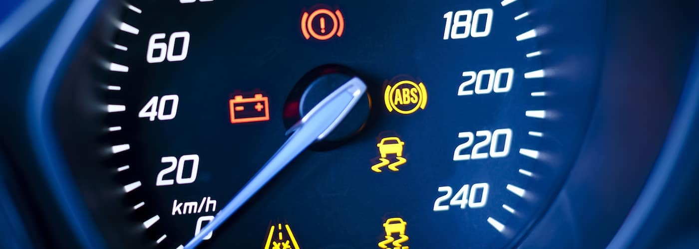 BMW Warning Lights Display