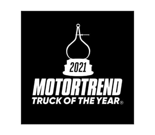 2021 RAM 1500 TRX MotorTrend Truck of the Year award