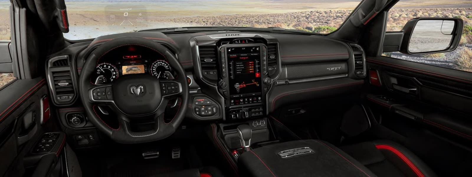 2021 RAM 1500 TRX interior design