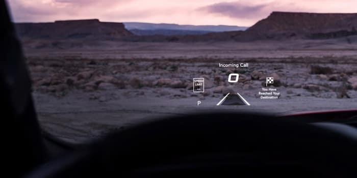 2021 RAM 1500 TRX heads-up display (HUD)