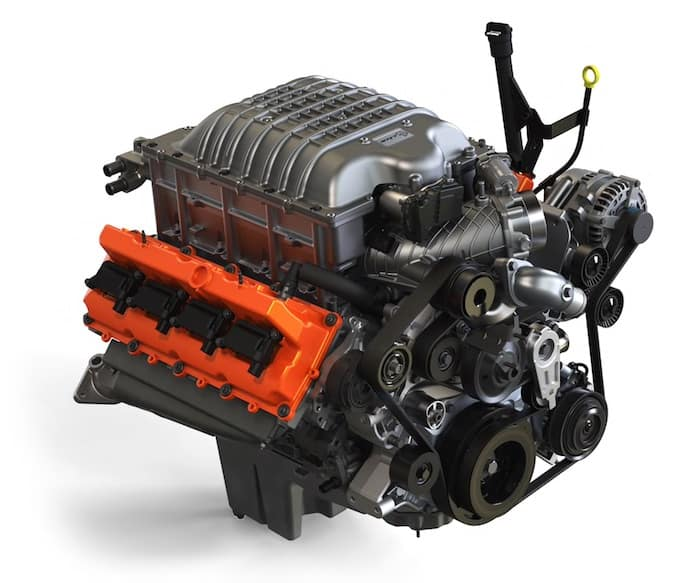 2021 RAM 1500 TRX available supercharged 6.2L HEMI V8 engine
