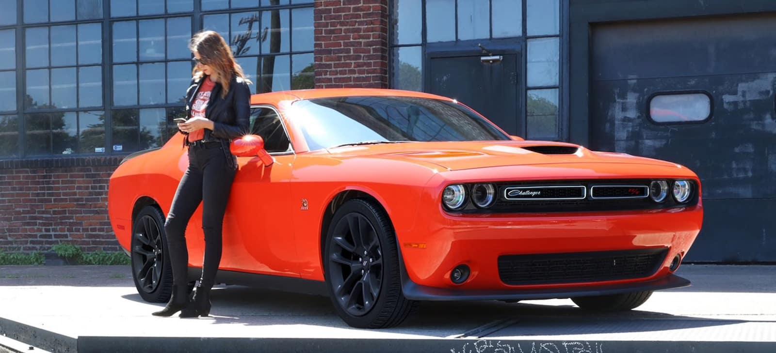 2021 Dodge Challenger exterior design