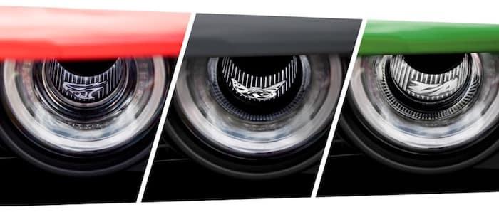 2021 Dodge Challenger illuminated Air-Catcher Headlamps