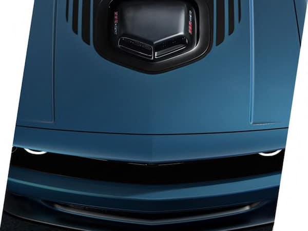 2021 Dodge Challenger shaker hood