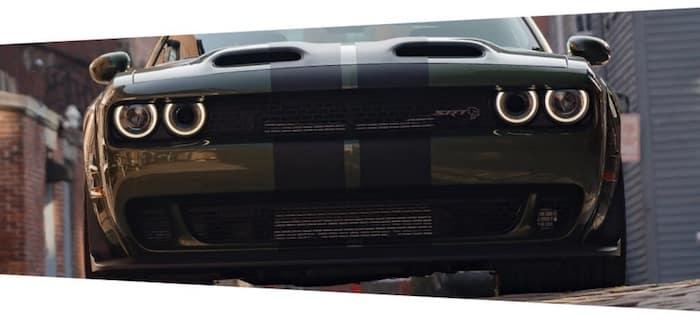 2021 Dodge Challenger SRT grille