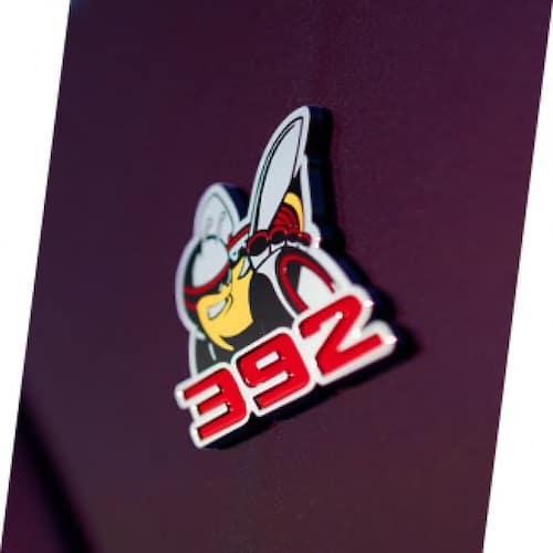 2021 Dodge Challenger R/T Scat Pack badging