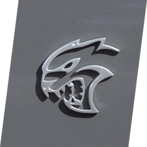2021 Dodge Challenger Hellcat SRT badging