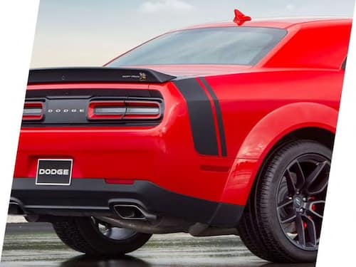 2021 Dodge Challenger Scat Pack paint striping