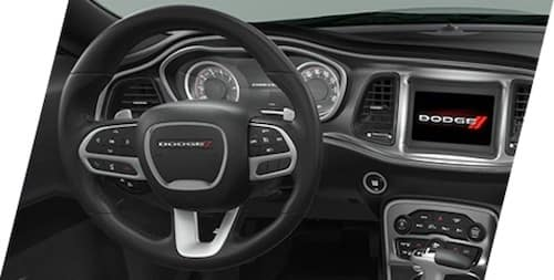2021 Dodge Challenger performance four-bump leather wrapped steering wheel
