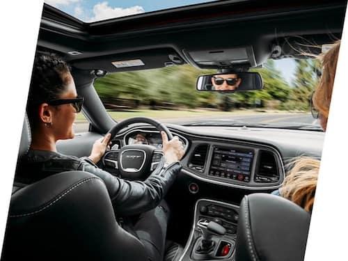 2021 Dodge Challenger interior passenger space