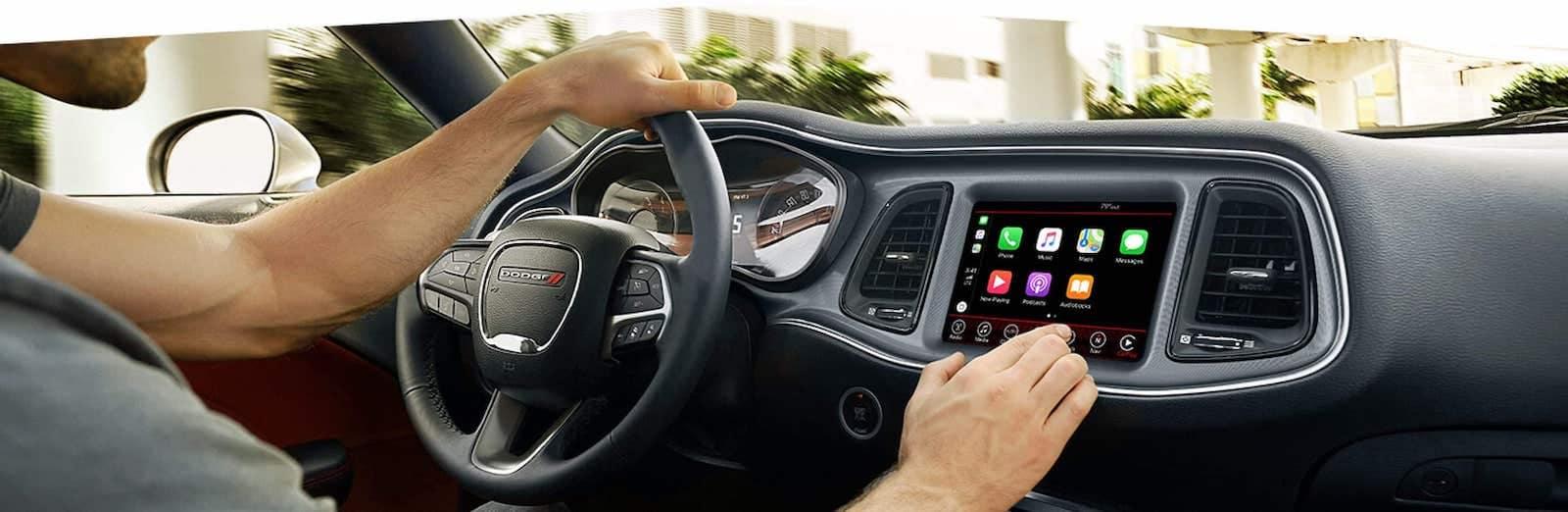 2021 Dodge Challenger full smart phone integration