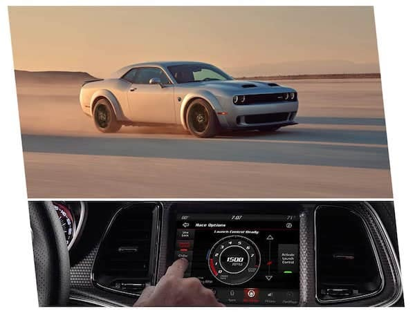 2021 Dodge Challenger launch assist