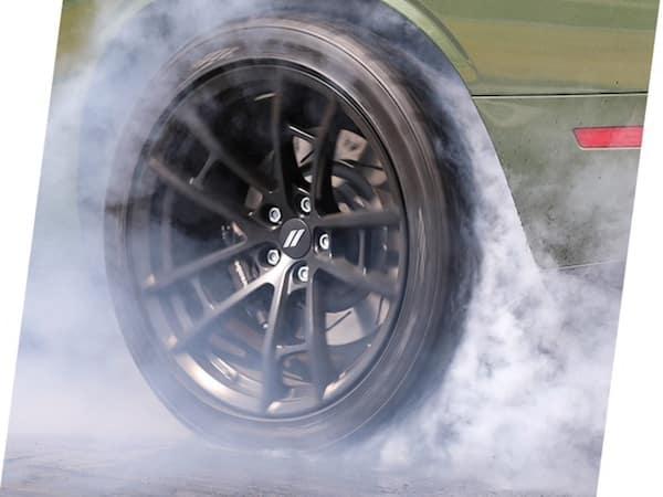 2021 Dodge Challenger drag radial tires