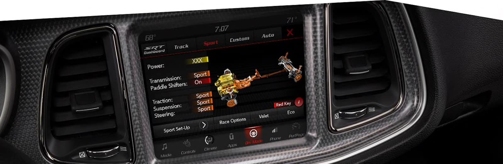 2021 Dodge Challenger SRT drive modes