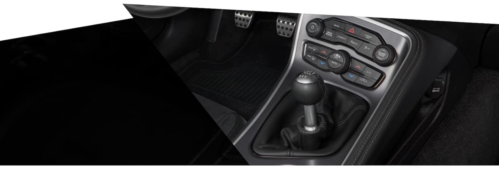 2021 Dodge Challenger six-speed manual transmission available