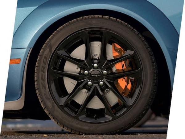 2021 Dodge Challenger 20 by 11-inch wheels with Pirelli P Zero tires