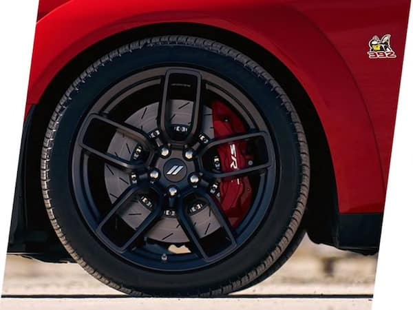 2021 Dodge Challenger R/T Scat Pack Widebody includes Brembo performance brakes