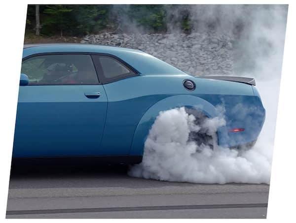 2021 Dodge Challenger line lock performance feature