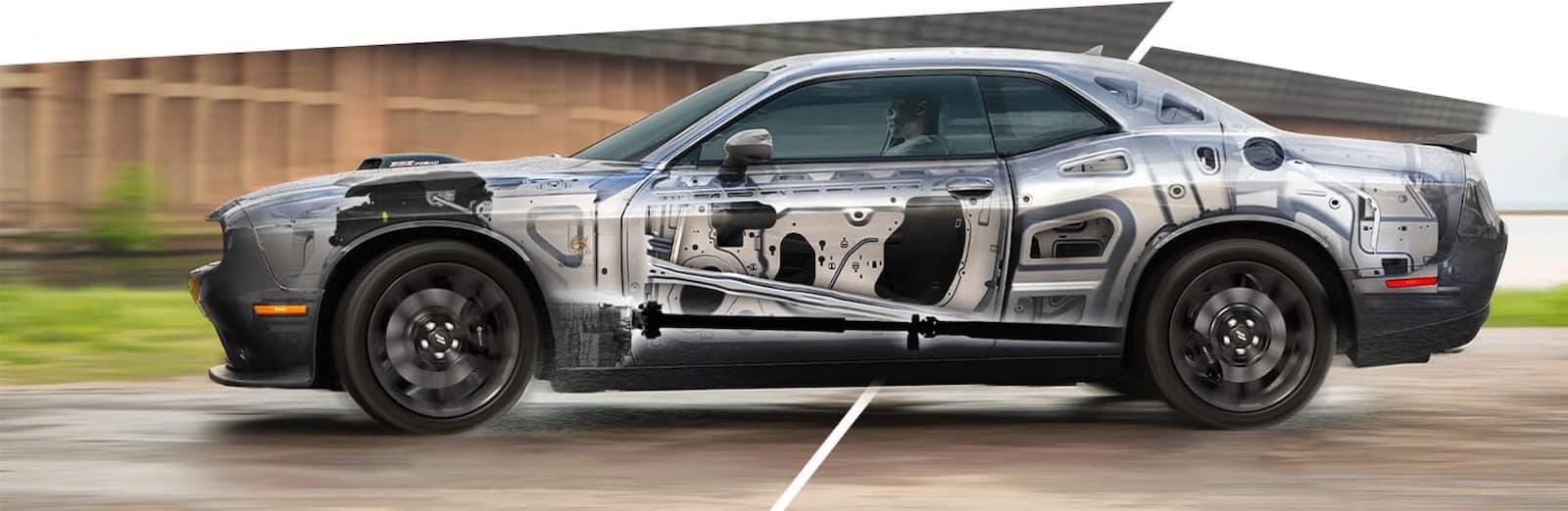 2021 Dodge Challenger body structure
