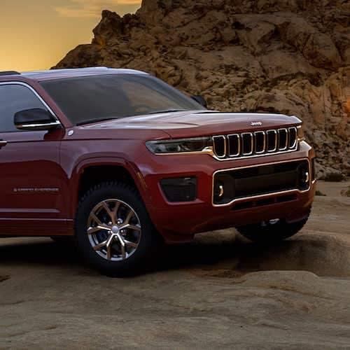 2021 Jeep Grand Cherokee L articulation