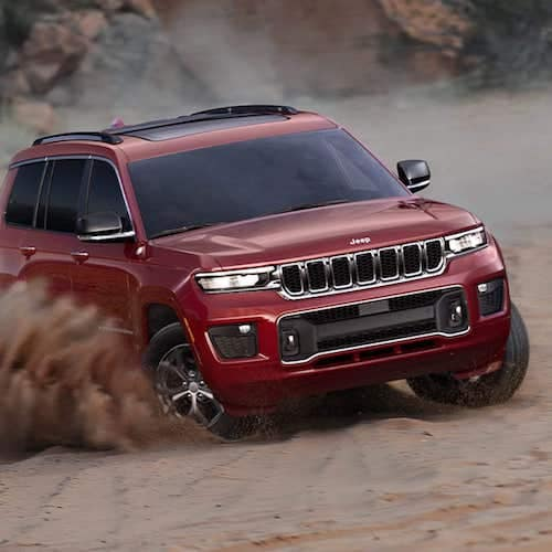 2021 Jeep Grand Cherokee L maneuverability