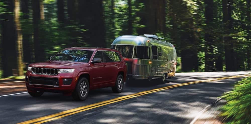 2021 Jeep Grand Cherokee L 7,200 lb maximum towing capacity