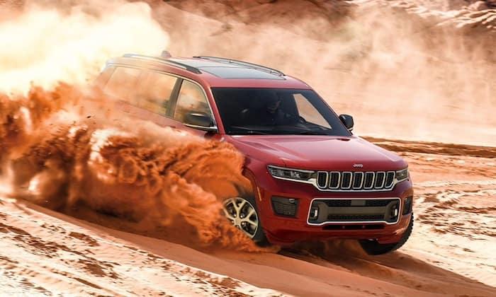 2021 Jeep Grand Cherokee L adaptive 4x4 systems