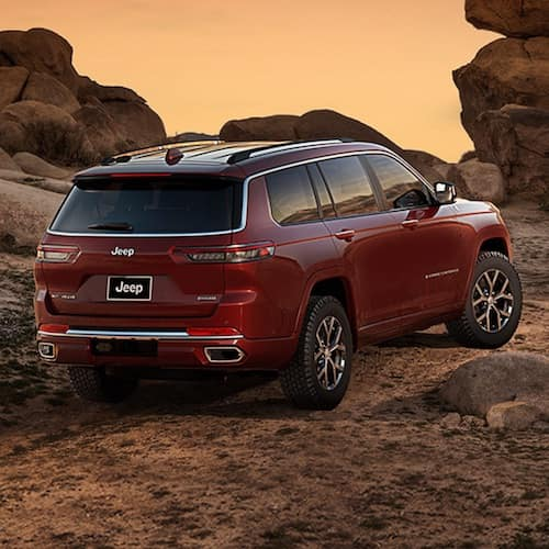 2021 Jeep Grand Cherokee L ground clearance