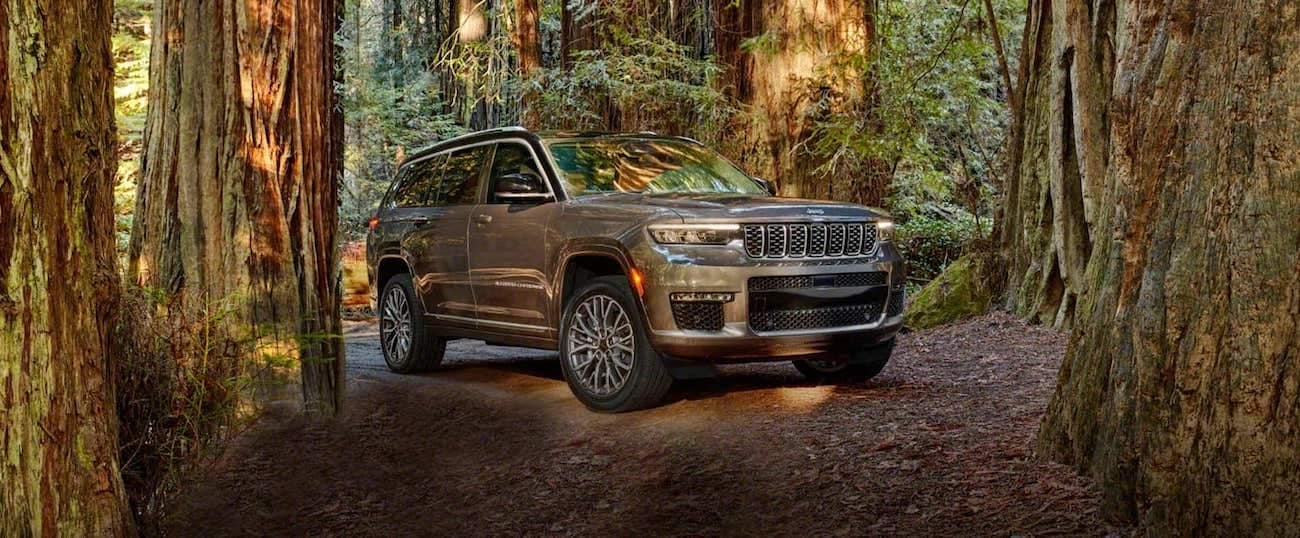 2021 Jeep Grand Cherokee L Exterior