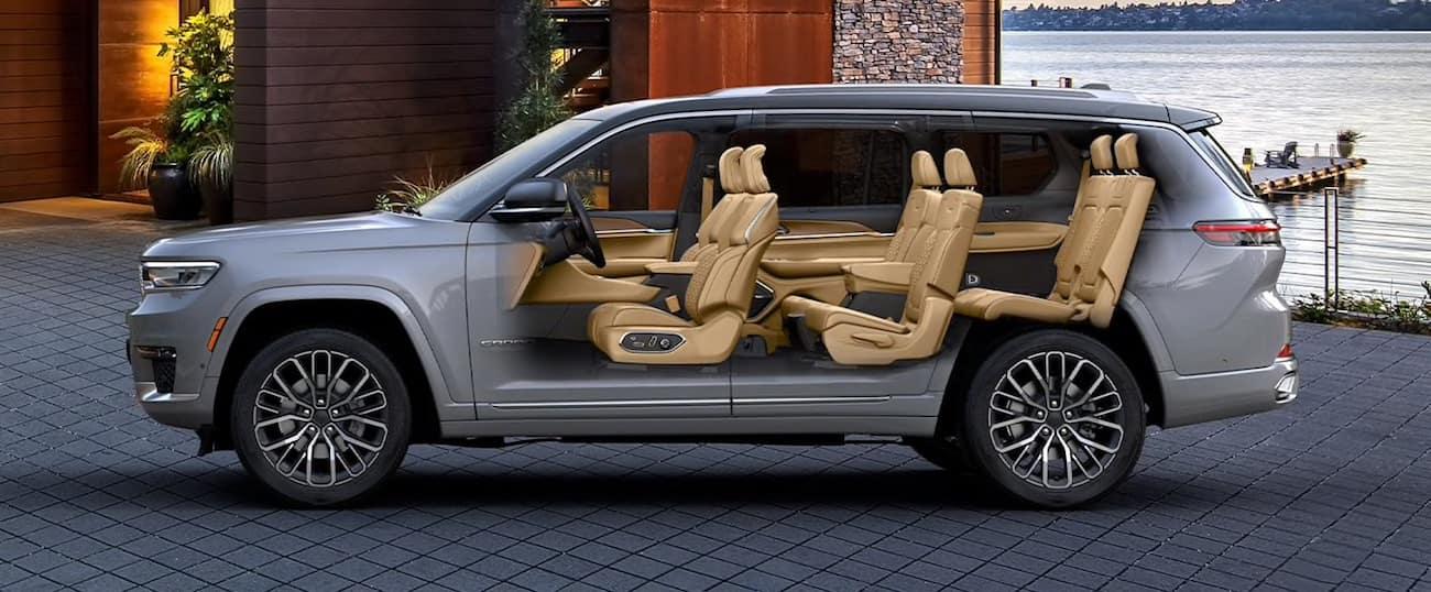 2021 Jeep Grand Cherokee L three row seating