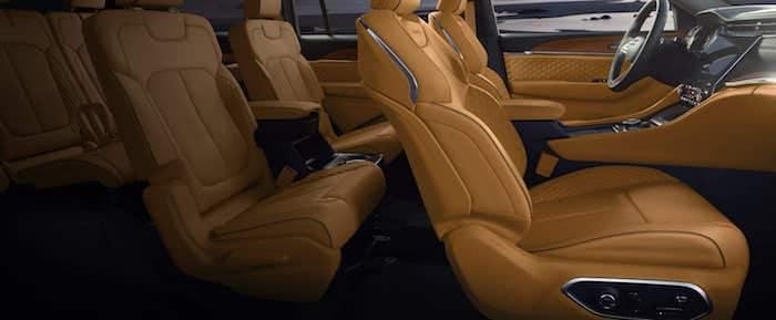 2021 Jeep Grand Cherokee L Front Massage Seats