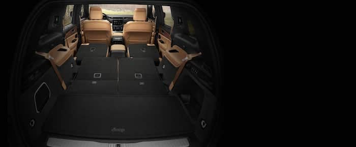 2021 Jeep Grand Cherokee L 84 cubic feet of cargo room