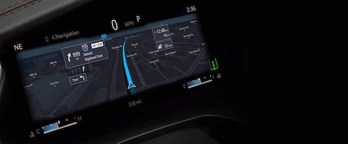 2021 Jeep Grand Cherokee L 10.25-inch digital cluster display