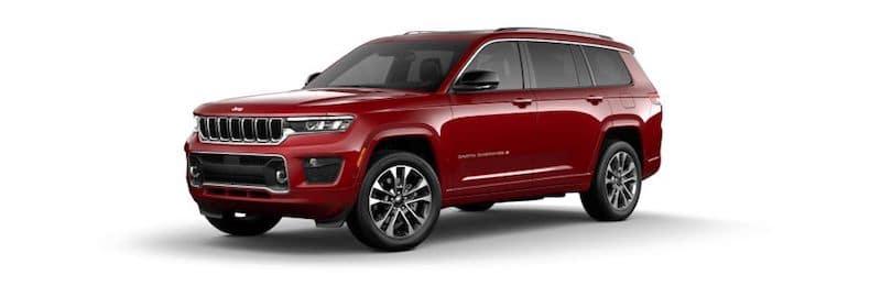 2021 Jeep Grand Cherokee L SUV for sale at Redwood City Jeep dealership near San Jose