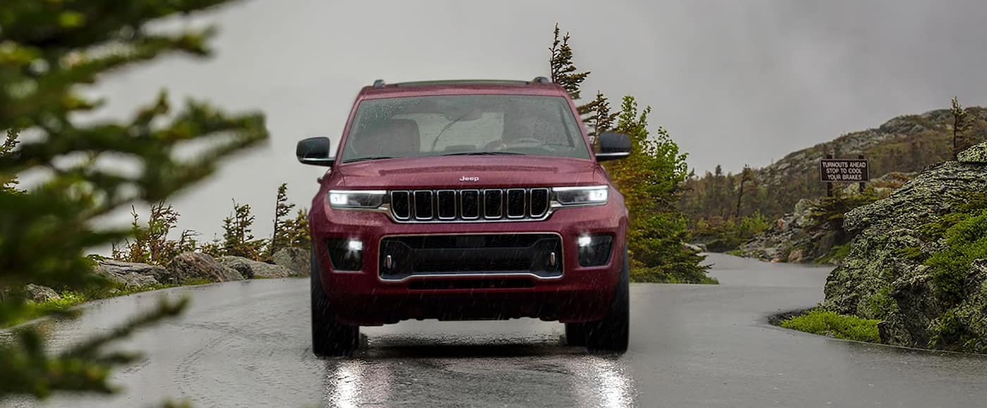 2021 Jeep Grand Cherokee L safety