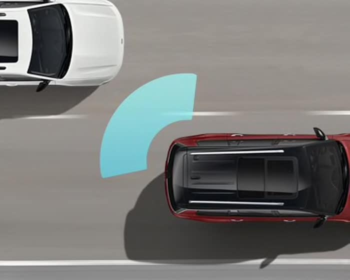 2021 Jeep Grand Cherokee L blind spot monitoring and rear cross path detection safety feature