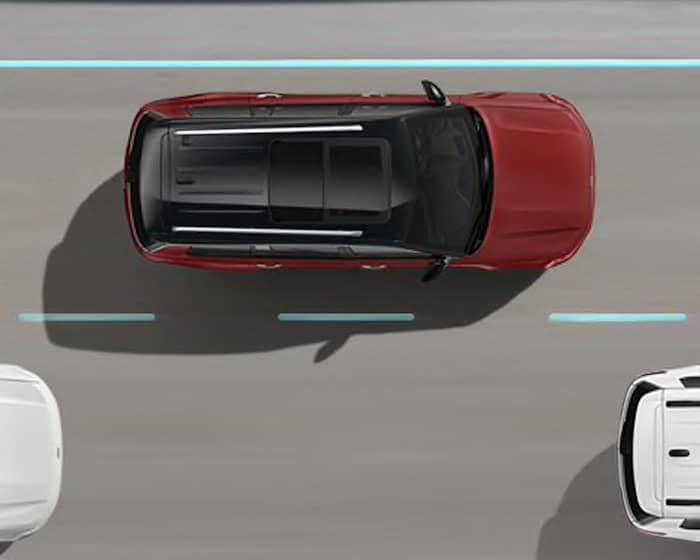 2021 Jeep Grand Cherokee L active lane management safety feature