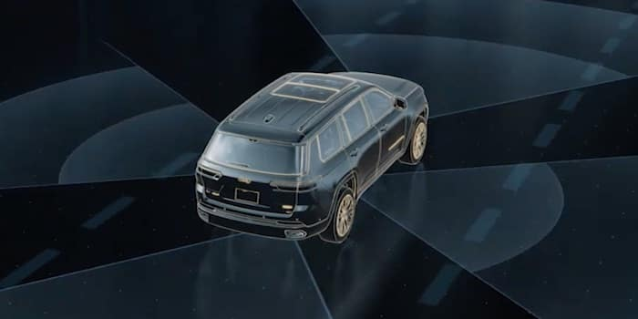 2021 Jeep Grand Cherokee L available active driving assist